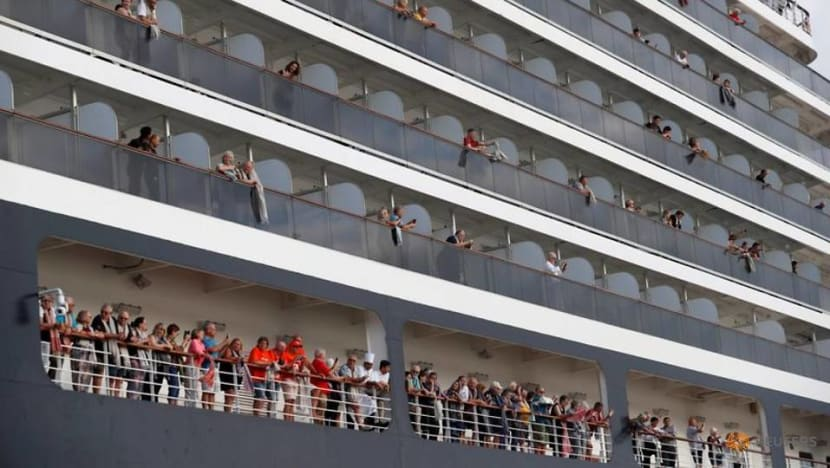 Cruise firm seeks new COVID-19 test for American passenger from ship in Cambodia