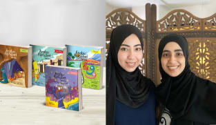 Singaporean mums win US award for English book series that teaches kids Arabic