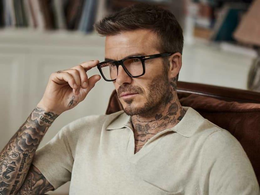 Football legend and fashion icon David Beckham now has his own eyewear line