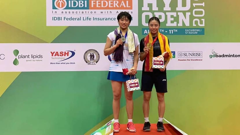 Badminton: Singapore's Yeo wins women's title at Hyderabad Open, compatriot Loh finishes runner-up in men's singles