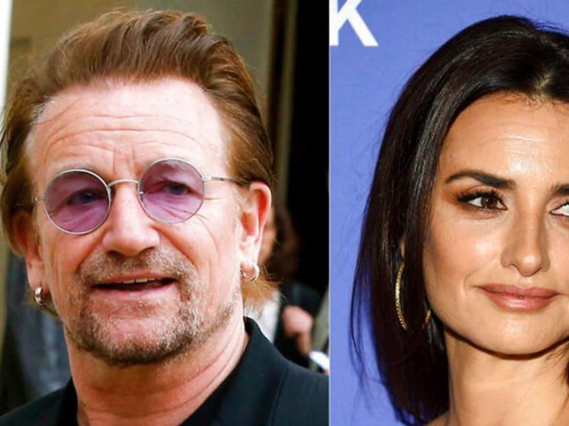 U2's Bono, Penelope Cruz to star in animated series on vaccine importance