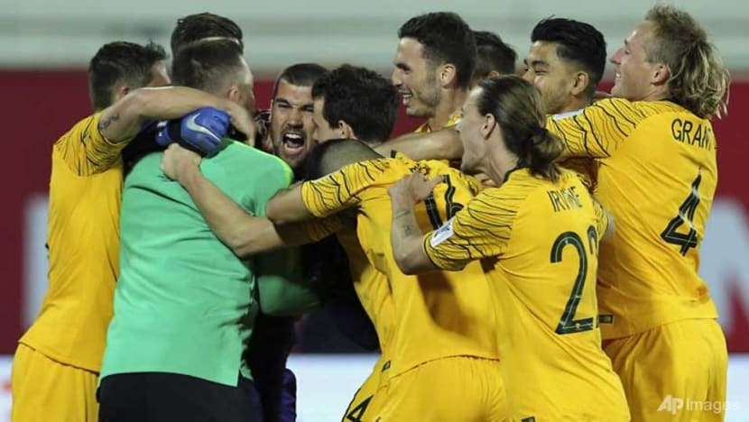 Football: Another late penalty rescues UAE at Asian Cup as Ryan saves Aussies
