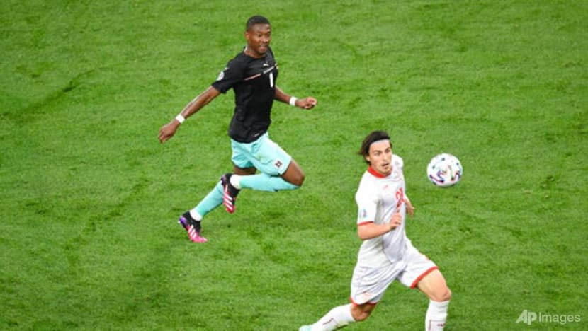 Football: Alaba quality bails out Austria but raises questions about his best role