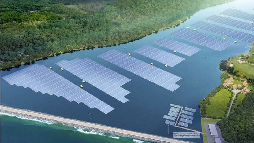Construction begins on Tengeh Reservoir floating solar farm, touted as one of world's largest