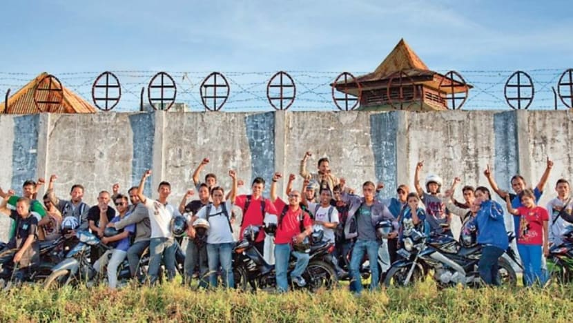 Indonesia's motorbike gang spreads agricultural knowledge to 'haunted island' and beyond