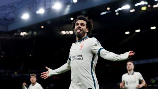 Salah hat-trick as Liverpool put five past shambolic United