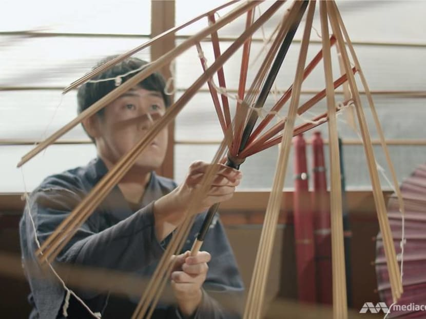 He is one of only 20 craftsmen in Japan keeping a 329-year-old tradition alive
