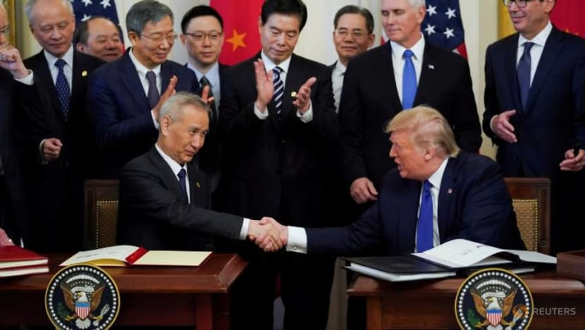 Commentary: Why China signed an unequal trade deal with the US
