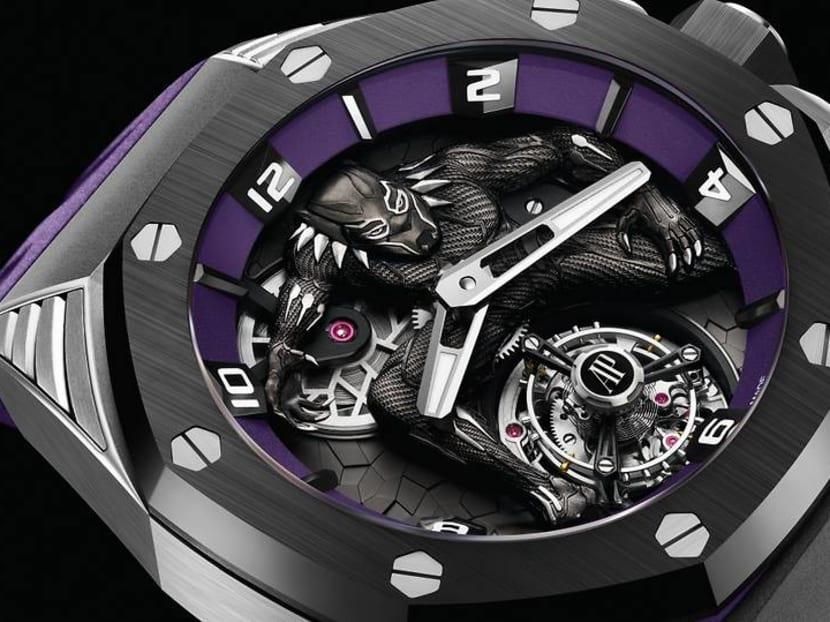 Kevin Hart, Serena Williams unveil Audemars Piguet's Black Panther watch