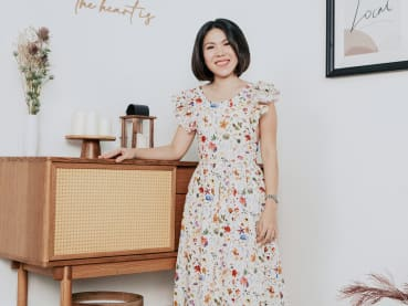 Creative Capital: Singapore's Macaron queen now designs colourful clothes 'with love'