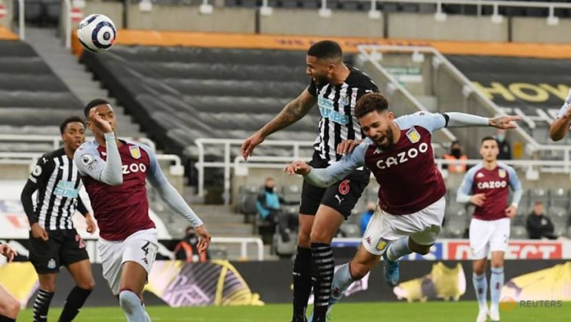 Football: Lascelles rescues Newcastle with late equaliser against Villa