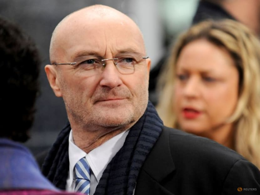Musician Phil Collins says his drumming days are over due to bad health