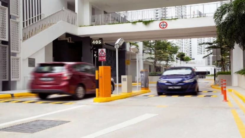 Smart parking system to go on trial at newly-completed Punggol Northshore HDB residences from Jan 4