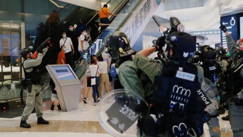 Hong Kong police chief admits 'undesirable' behaviour towards media at protest