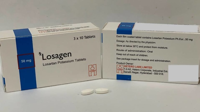 HSA recalls high blood pressure drugs: What you need to know about losartan
