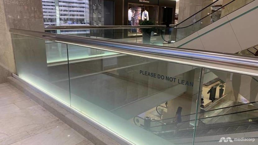 Ngee Ann City death: 1m-tall safety barriers consistent with other countries, BCA says