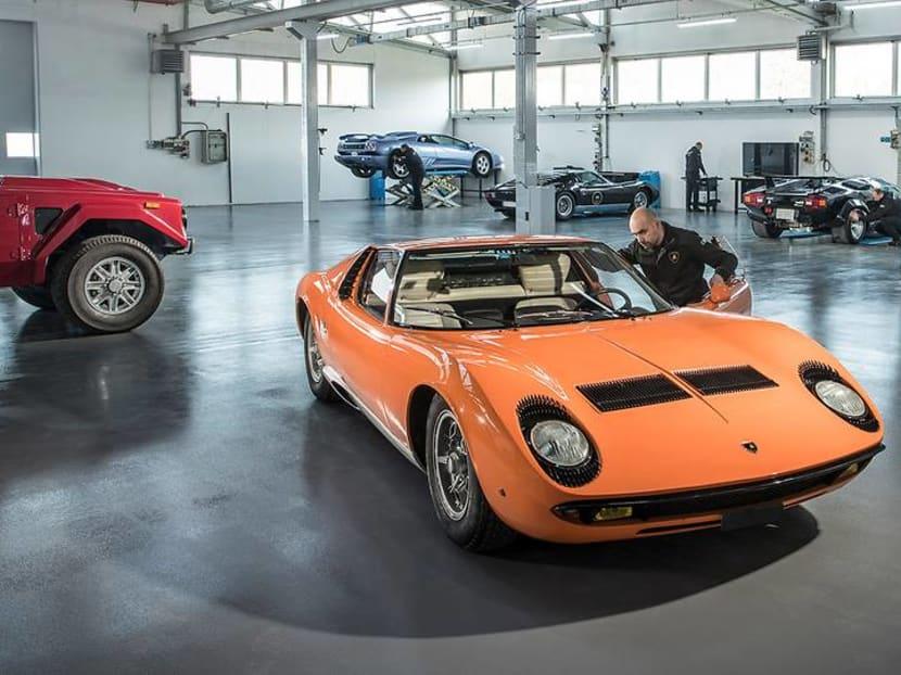 Why Lamborghini won't restore your vintage supercar to mint condition