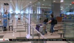 100 arrive on maiden vaccinated travel lane flight from Frankfurt | Video