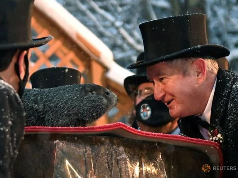 Groundhog predicts more winter for a country that just got a dose of it