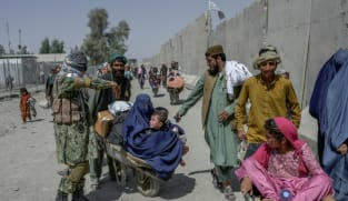 Russia hosts Taliban for talks after warning against Islamic State threat