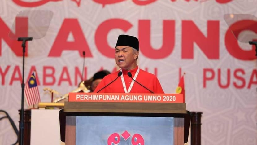Ahmad Zahid claims sufficient UMNO MPs have withdrawn support for PM Muhyiddin; energy minister quits Cabinet