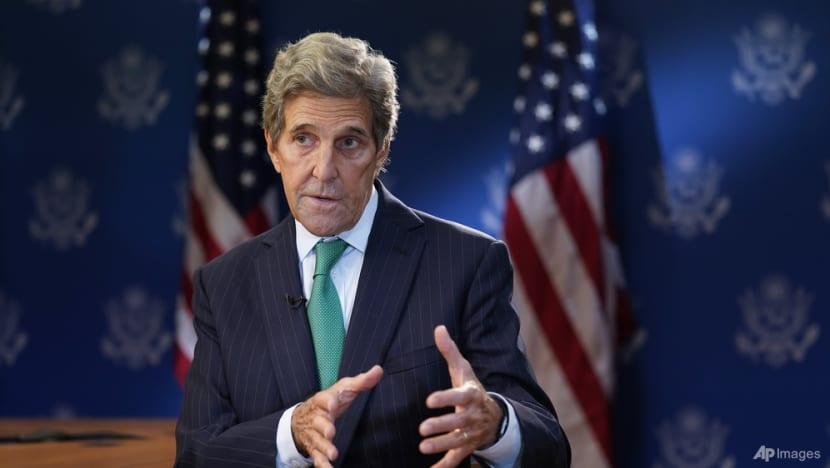 US envoy Kerry says climate talks may miss emission targets