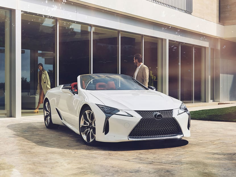 What it's like test-driving the new S$600,000 Lexus LC Convertible