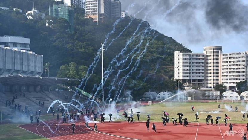 China says 'firmly supports' Hong Kong police after US criticises shooting of protester