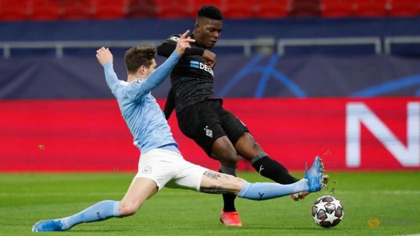 Football: Manchester City stroll past Moenchengladbach into Champions League quarters