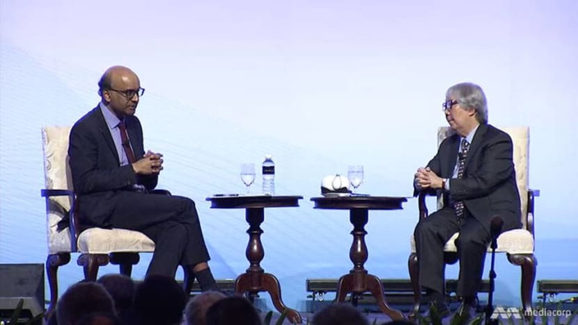 'Keep the escalator moving up': DPM Tharman urges Singapore to maintain social mobility