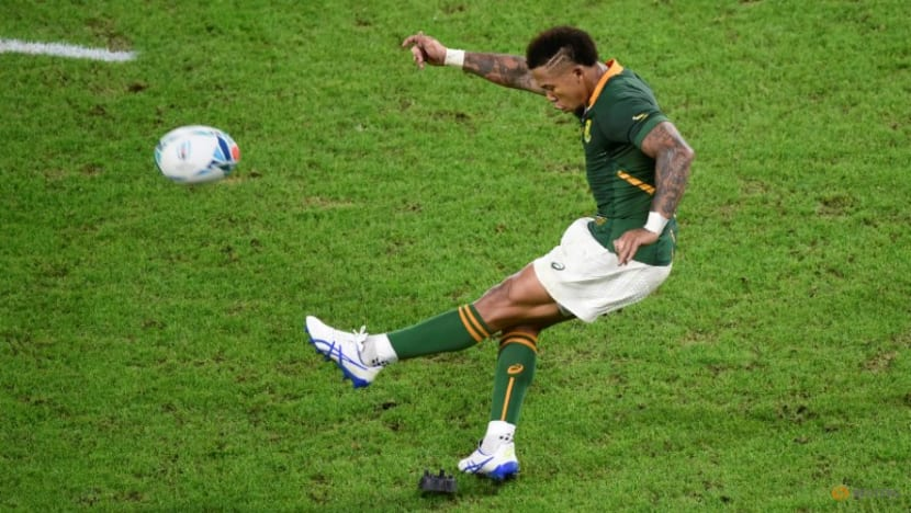 Rugby-Matured Bok flyhalf Jantjies knows it's all about the team
