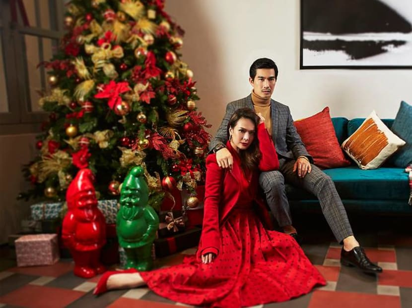 Pierre Png and Andrea De Cruz's Christmas tradition for lonely friends who need family