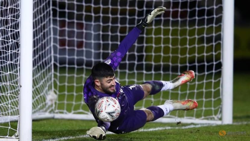 Newport keeper King sets world record with goal from 96 metres out