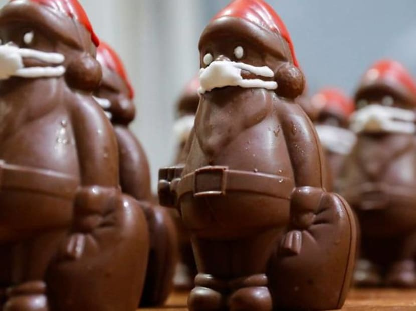 Chocolate Santas in marzipan masks – a coronavirus Christmas hit in Hungary