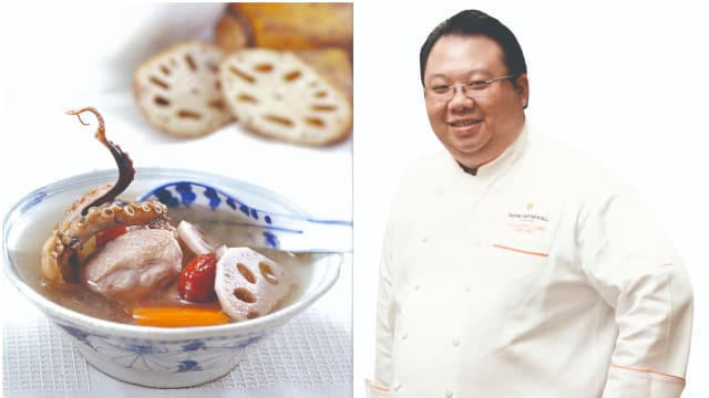 食谱:莲藕汤