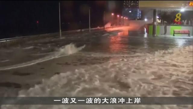 强台风圆规直击香港 至今传至少一人丧命