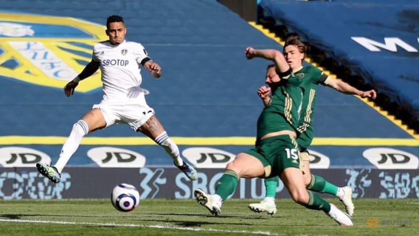 Football: Harrison helps Leeds to 2-1 win over Sheffield Utd