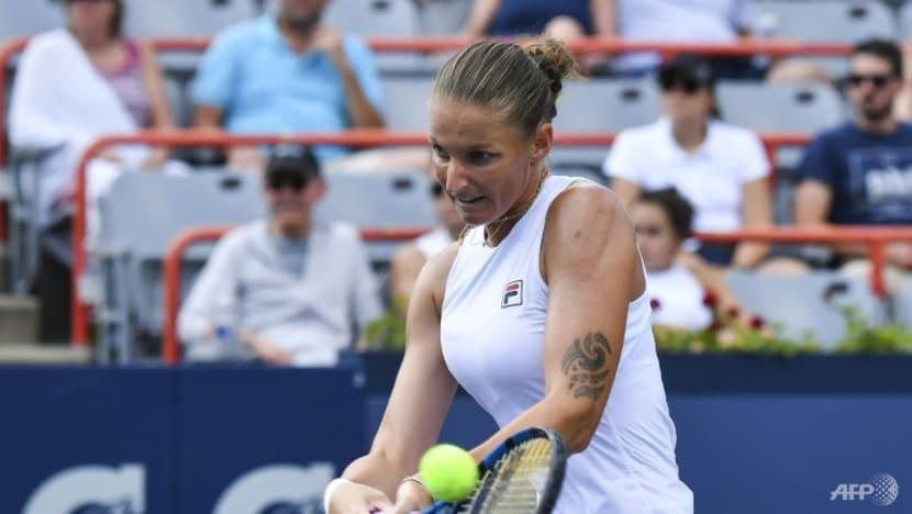 Tennis: Pliskova upsets top seed Sabalenka to reach Montreal final