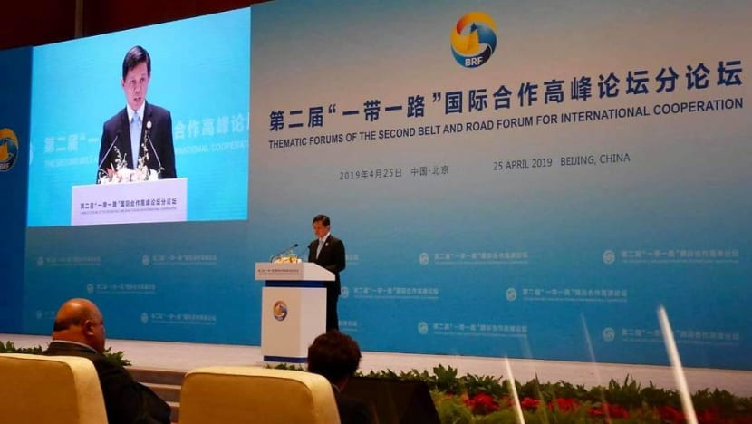 Belt and Road must remain 'open' for free flow of trade, investments: Chan Chun Sing