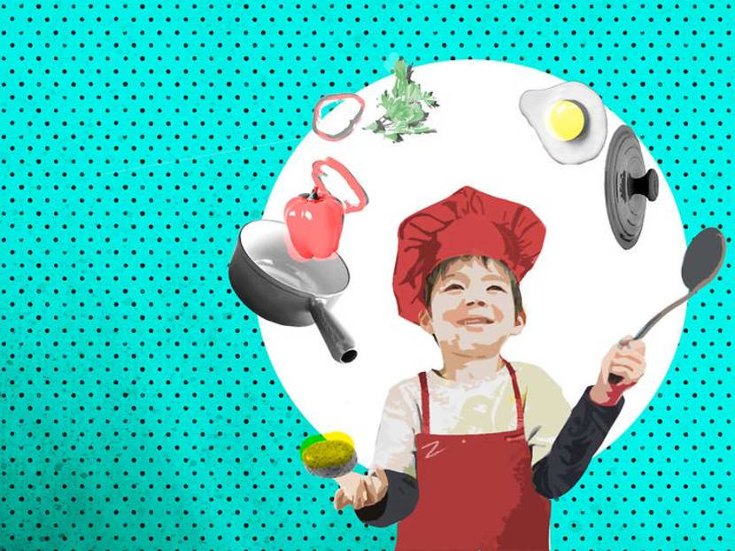 Make cooking with kids a way to bond and impart life lessons