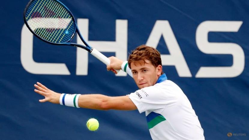 Tennis: Ruud beats Sultanov as Norway take lead in Davis Cup
