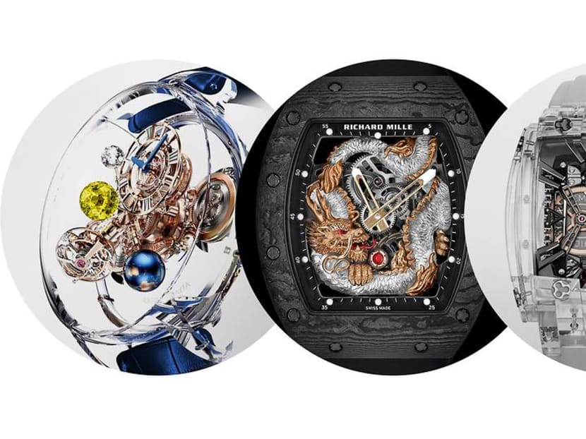 Why are watchmakers making million-dollar timepieces that look like plastic?