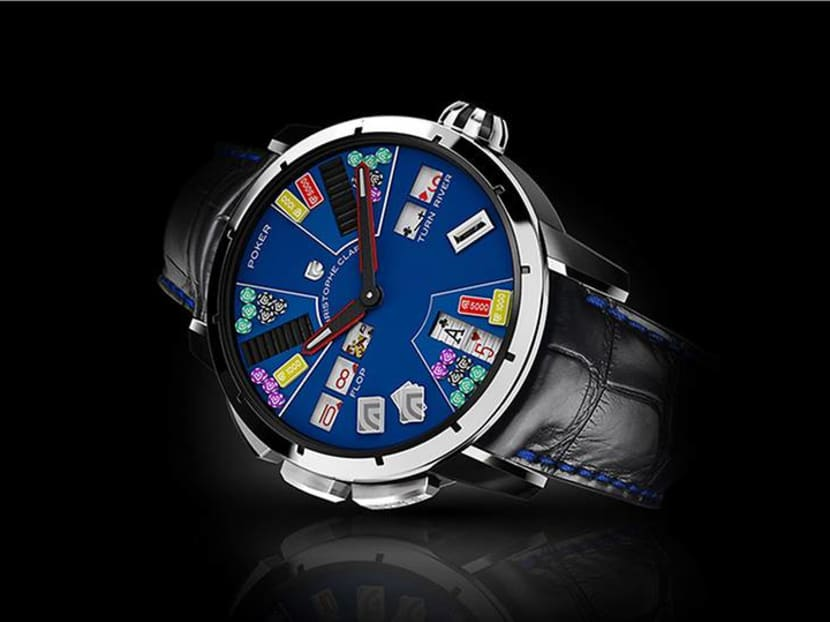 Game on: This mechanical watch lets you play poker – with yourself
