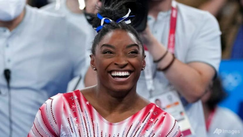Gymnastics: Biles takes Olympic bronze after mental health battle