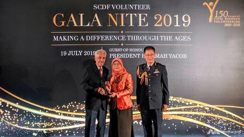 SCDF celebrates civil defence volunteers at gala