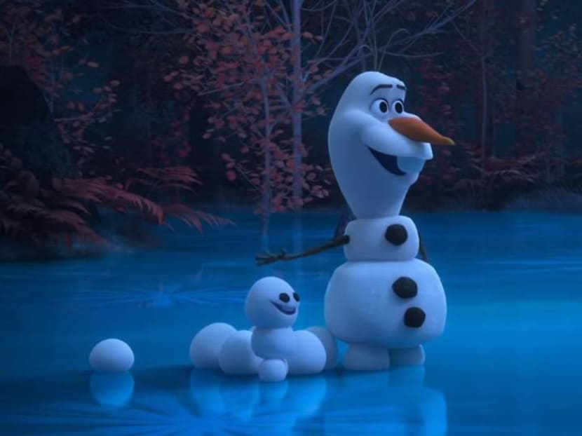 Frozen's Olaf the snowman now has his own series of short videos on YouTube
