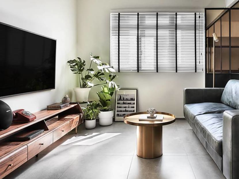 Transforming a 510 sq ft HDB flat to accommodate a couple's eclectic passions