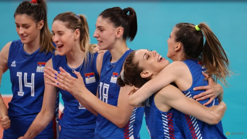 Volleyball: Serbia overpower S Korea to win bronze in women's final