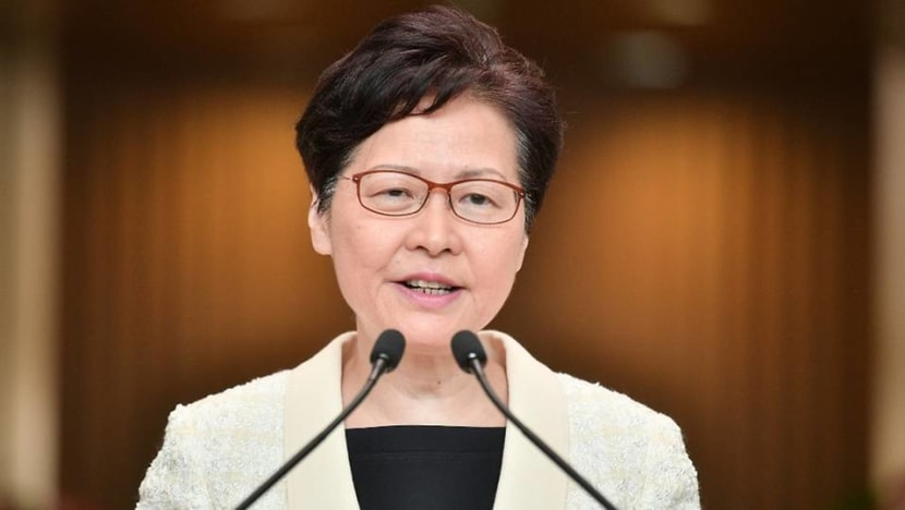 Not resigning 'my own choice': Hong Kong leader Carrie Lam clarifies comments on quitting