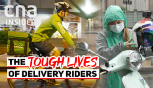 Make It Work - S1E1: Surviving as a food delivery rider in Singapore & Hong Kong